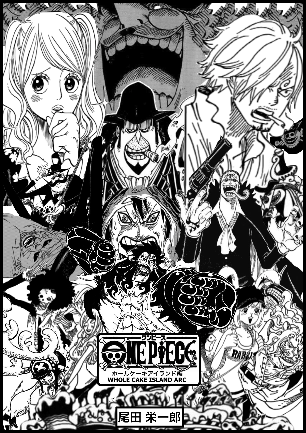 Manga SpoilersWhole Cake Island Arc Movie Styled Poster