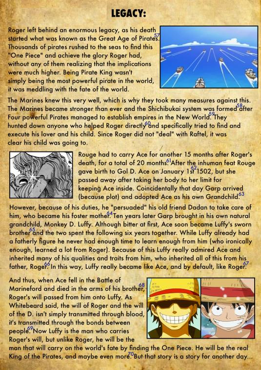 Gol D. Roger's Biography 10