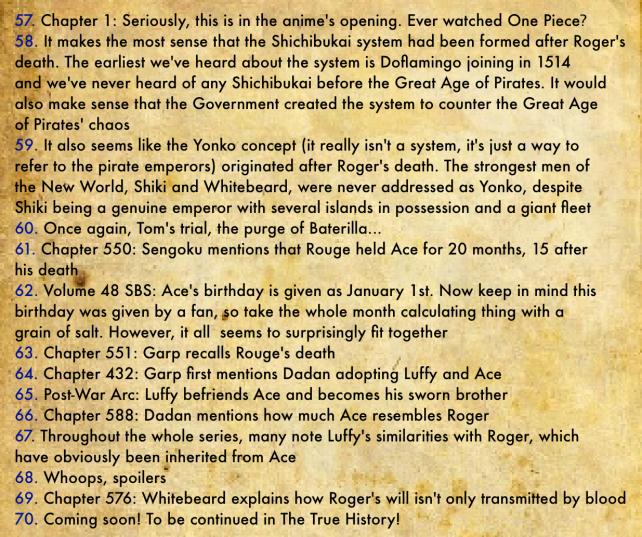 Gol D. Roger's Biography 11