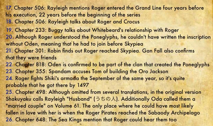 Gol D. Roger's Biography 4