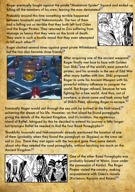 Gol D. Roger's Biography 5