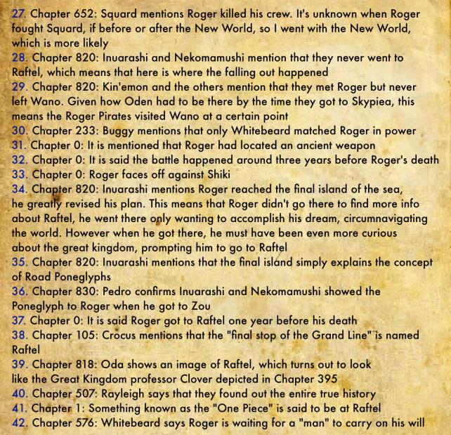 Gol D. Roger's Biography 7