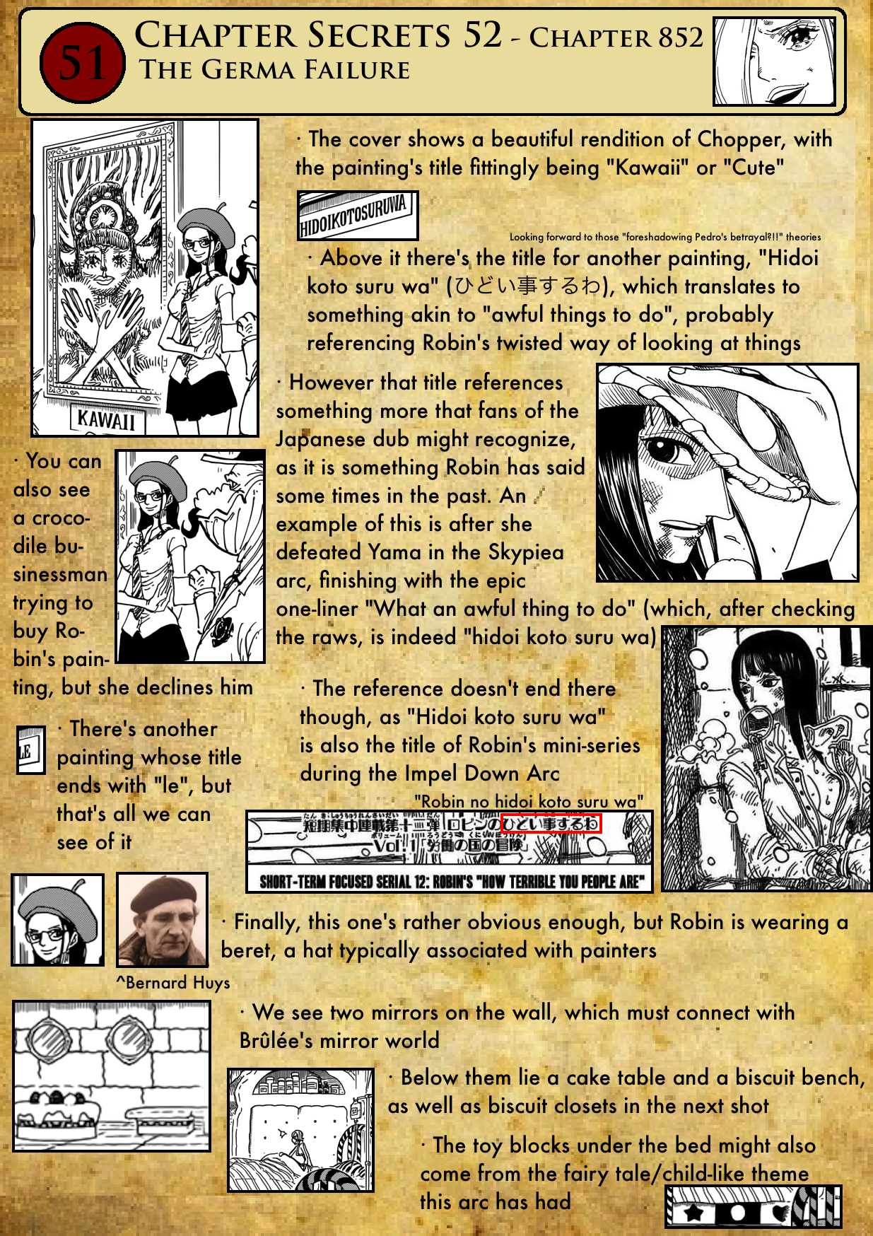 """Chapter 852: """"The Germa Failure"""" Chapter-852-1"""