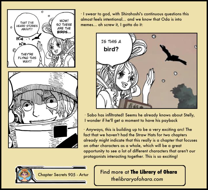 Chapter Secrets 905 16