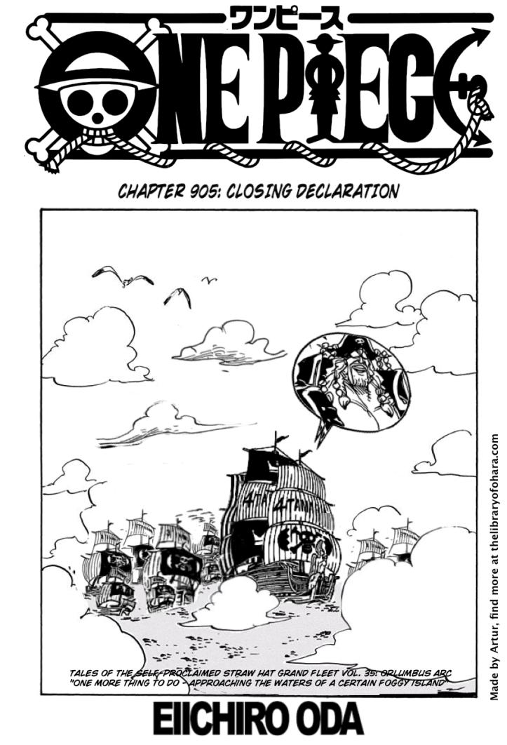 One Piece 905 1