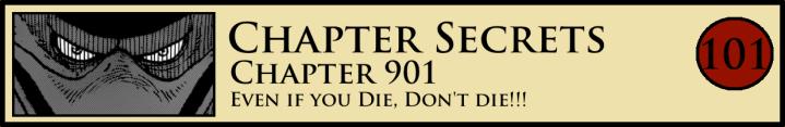 Chapter Secrets 901