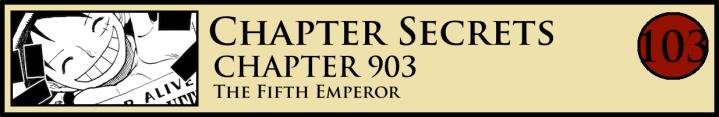 Chapter Secrets 903