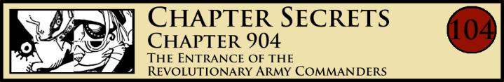 Chapter Secrets 904