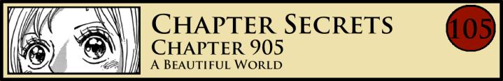 Chapter Secrets 905