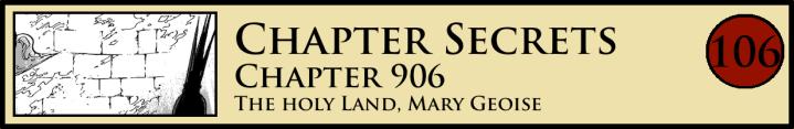 Chapter Secrets 906