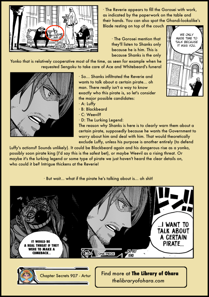 Chapter Secrets 907 12