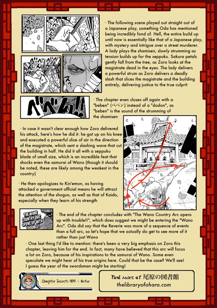 Chapter Secrets 908 18
