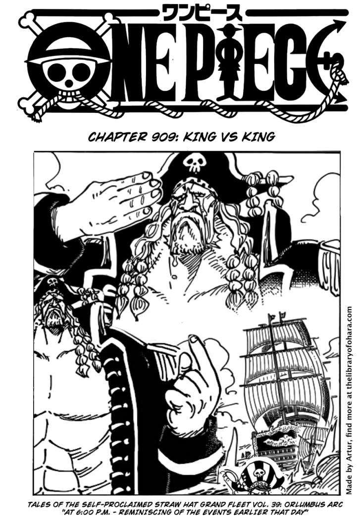 One Piece 909 page 1
