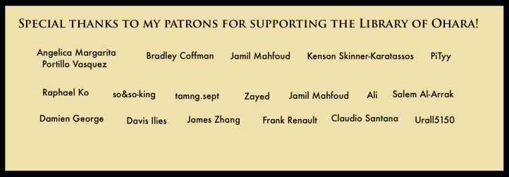 Patreon Supporters <3 copy