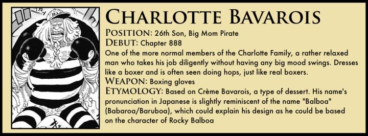 Charlotte Bavarois One Piece
