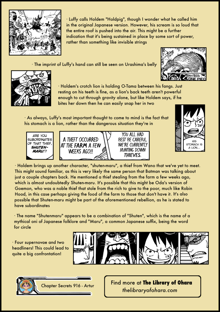 Chapter Secrets 916 8