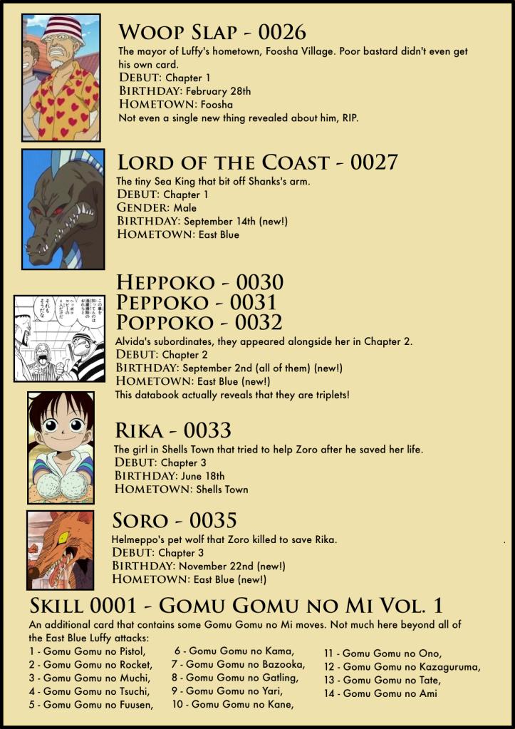 Vivre Card Databook 10