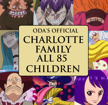 The Official Charlotte Family Tree by Oda – All the Daughters – The