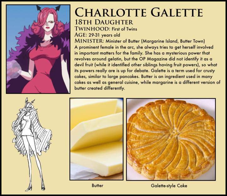 One Piece Charlotte Galette