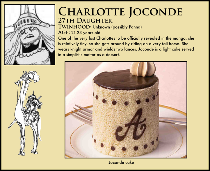 One Piece Charlotte Joconde