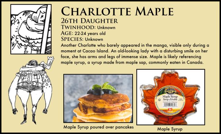 One Piece Charlotte Maple