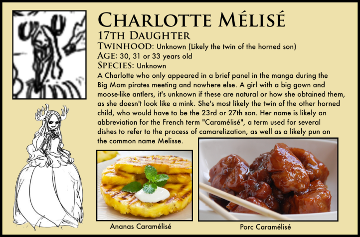 One Piece Charlotte Mélisé