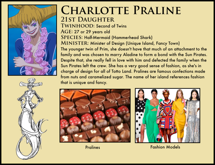 One Piece Charlotte Praline