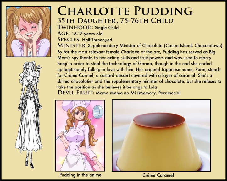 One Piece Charlotte Pudding