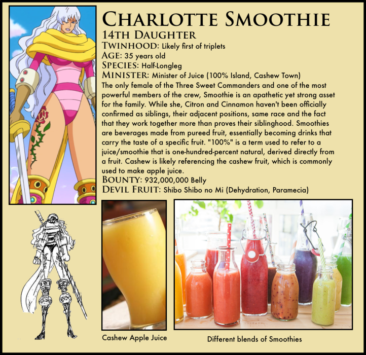 One Piece Charlotte Smoothie