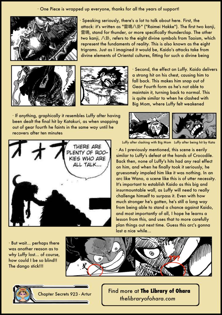 Chapter Secrets 923 6