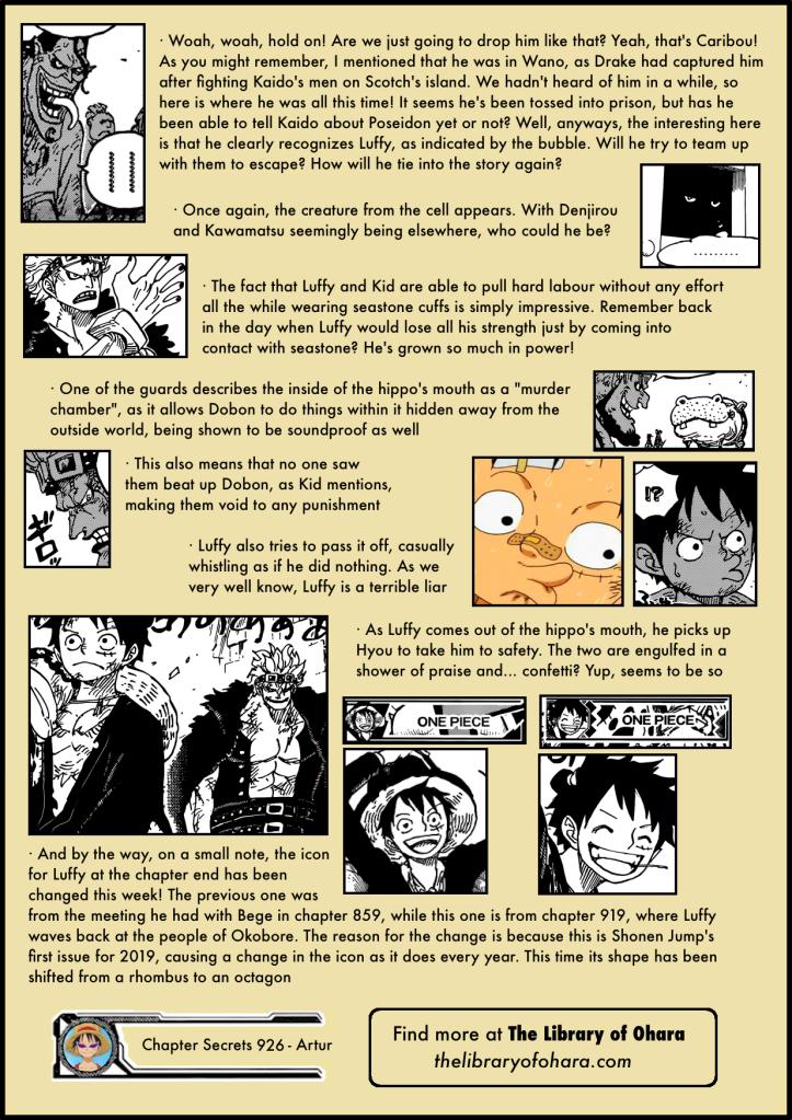 Chapter Secrets 926 6