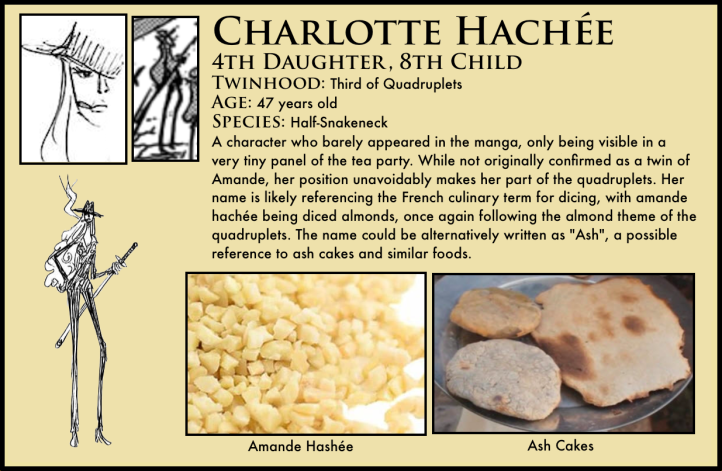 one piece charlotte haché