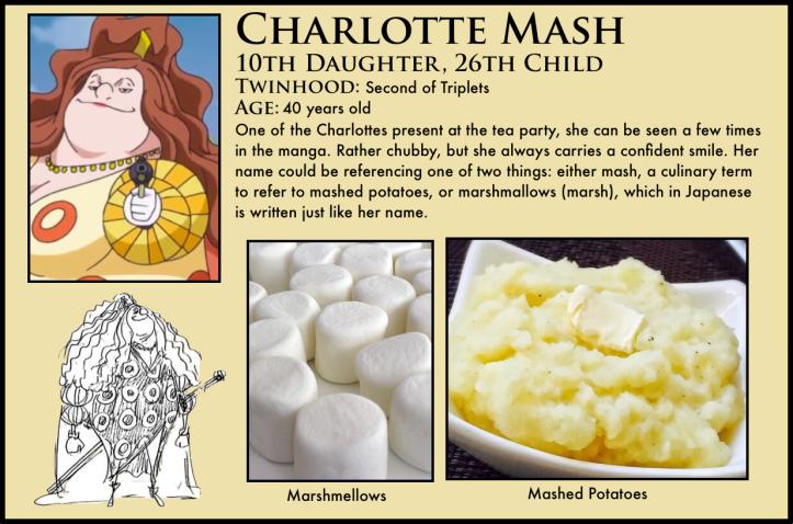 one piece charlotte mash