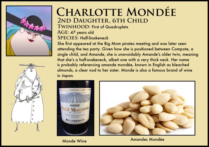 one piece charlotte mondée