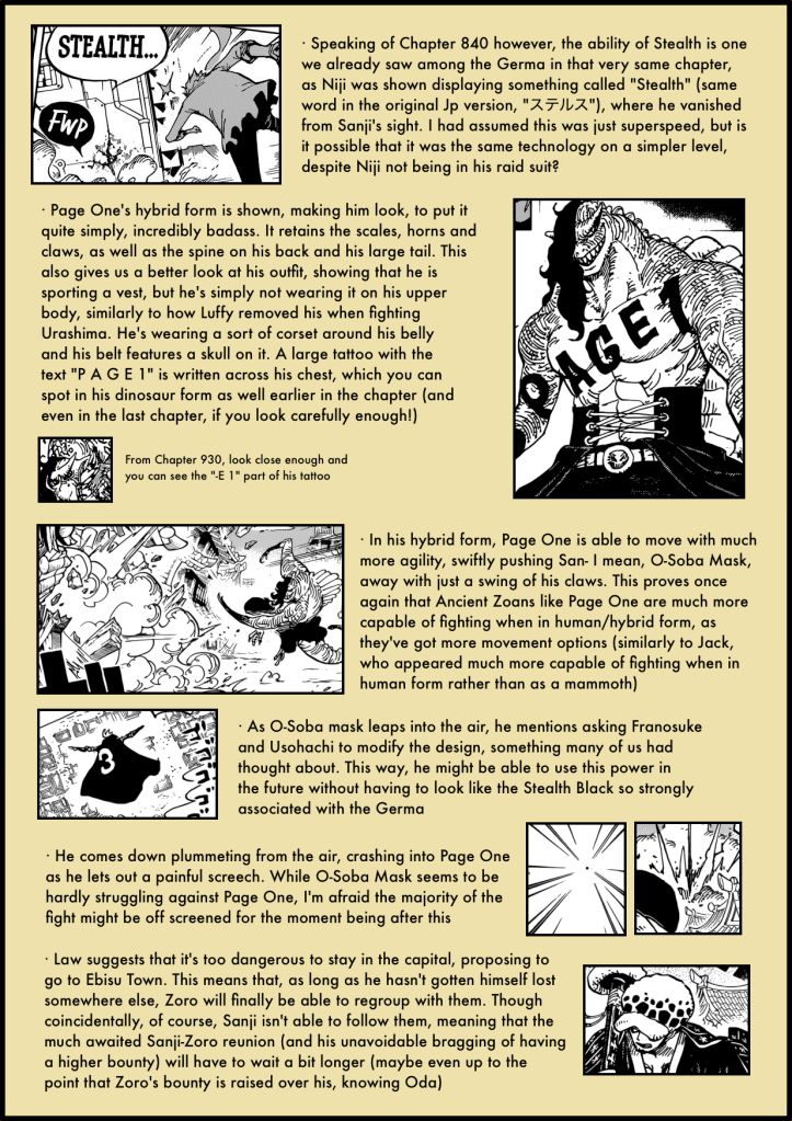 One Piece Chapter 931 4