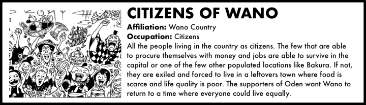 Citizens of Wano