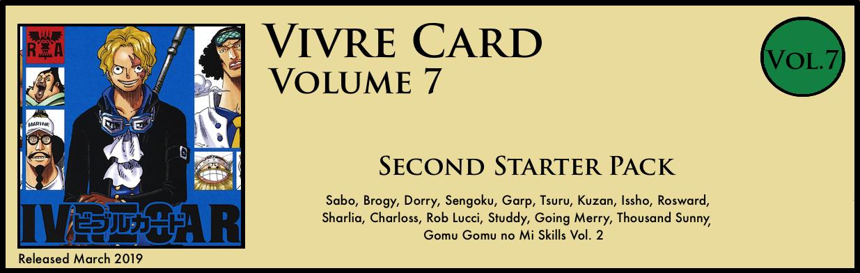 Vivre Card Volume 7 Reverie