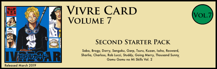 Vivre Card Volume 7 Reverie