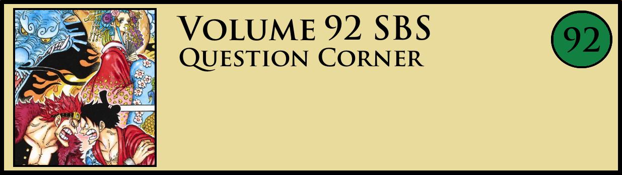 Volume 92 SBS