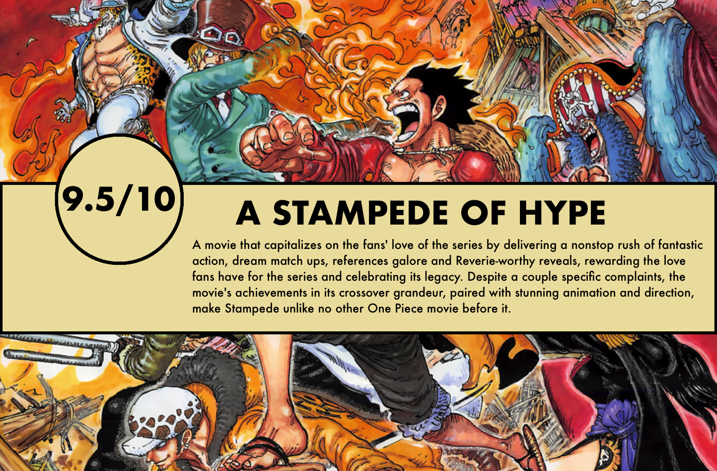 One Piece: Stampede – Review – The Library of Ohara