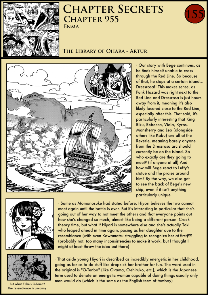 One Piece Chapter 955 1
