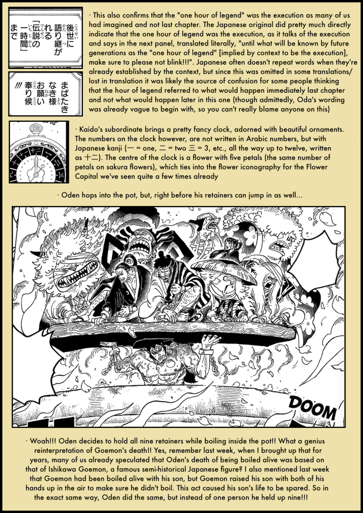 One Piece Chapter 971 analysis