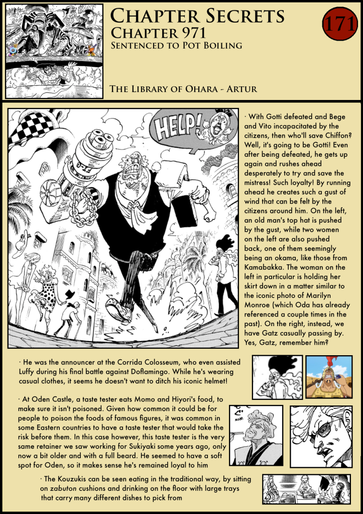 One Piece Chapter 971 analysis 1