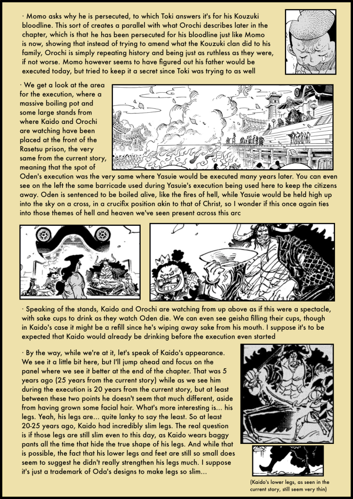 One Piece Chapter 971 analysis 2