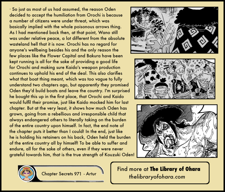 One Piece Chapter 971 analysis 6