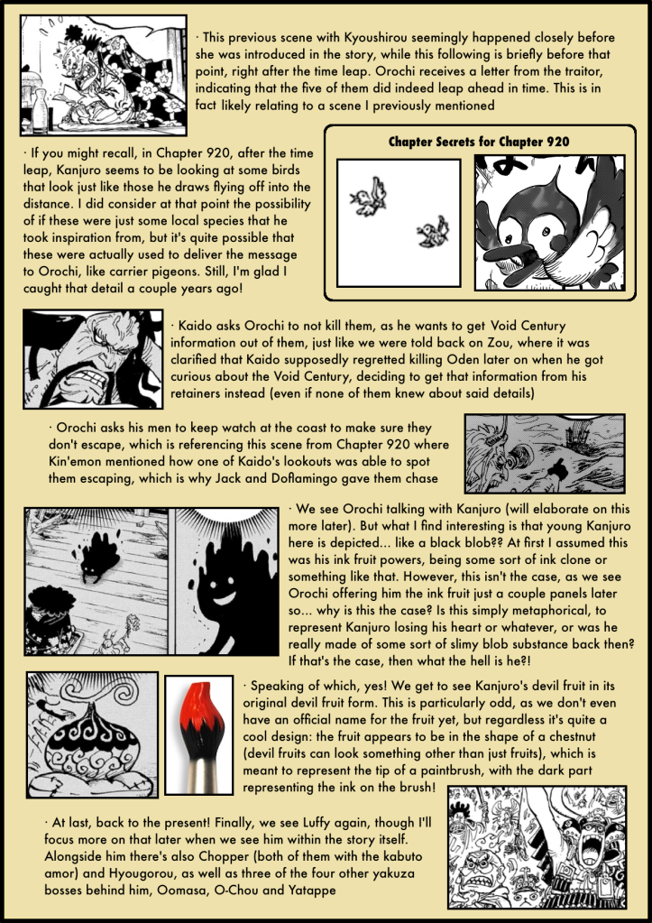 One Piece Chapter 974 analysis 2