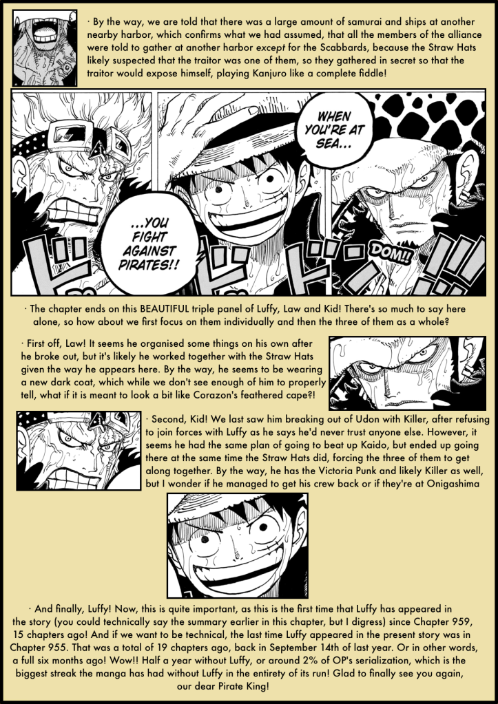One Piece Chapter 974 analysis 6