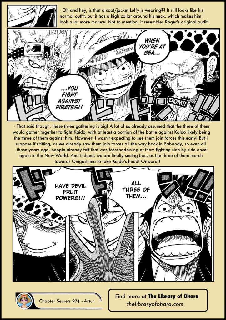 One Piece Chapter 974 analysis 7