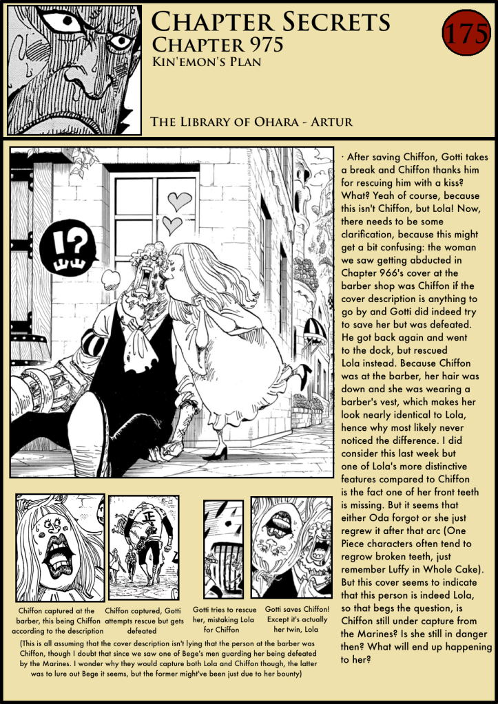 One Piece Chapter 975 analysis 1