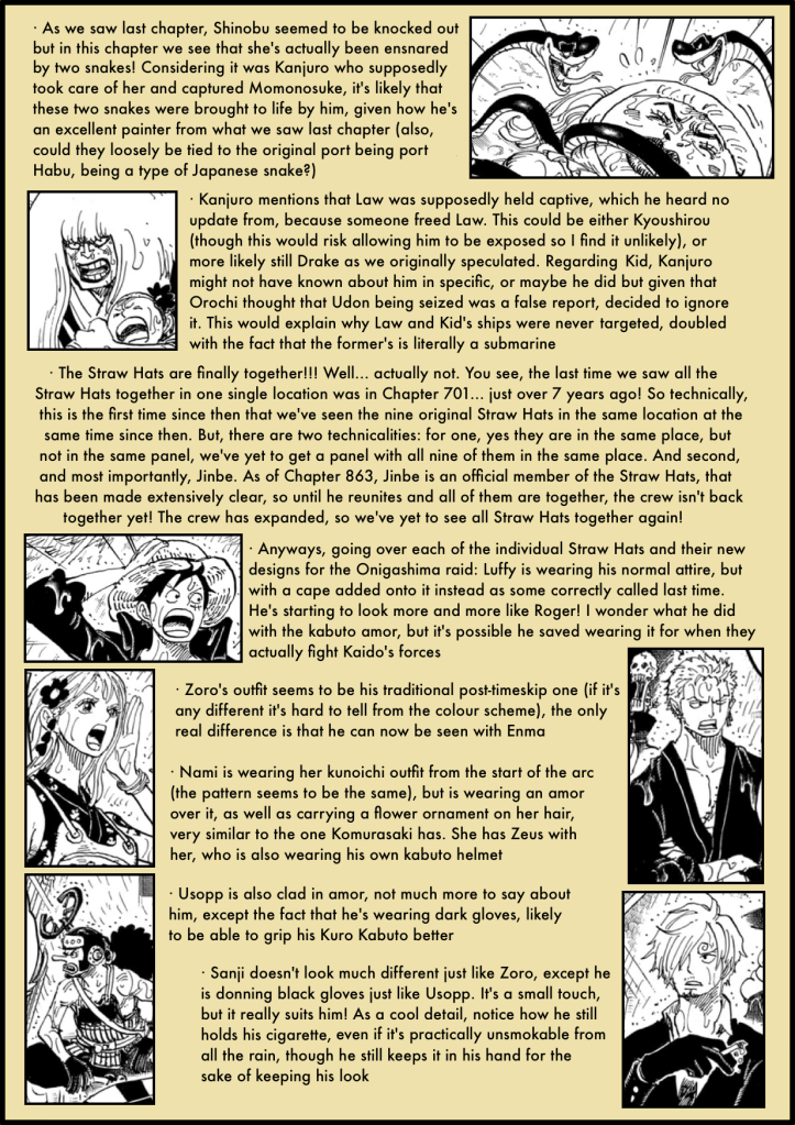 One Piece Chapter 975 analysis 2